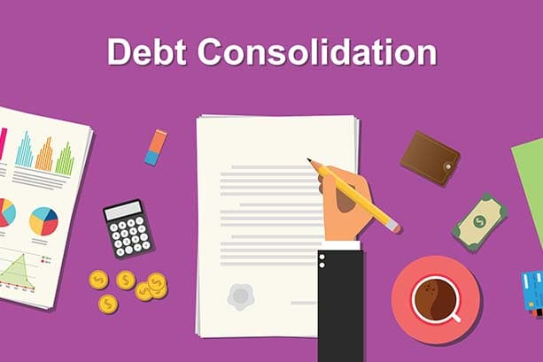 Consolidating debt into a