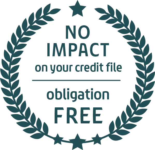 no obligation, no impact on credit file