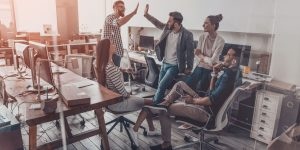 10 ways to create a happy office environment